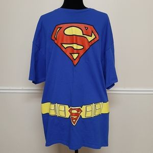 DC Comics Superman Shirt with Cape